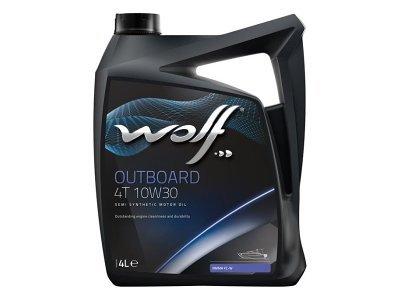 Motorno Olje WOLF OUTBOARD 4T 10W30 4L