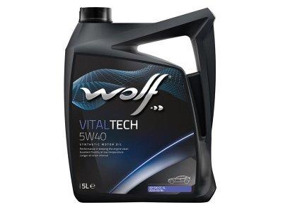 Motorno Olje WOLF VITALTECH  5W40 5L