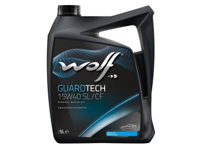 Motorno ulje 209900 - WOLF GUARDTECH 15W40 5L