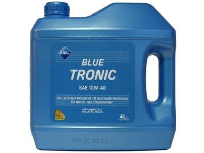 Motorno ulje Aral Blue Tronic 10W40 4L
