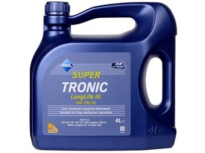 Motorno ulje Aral Super Tronic LongLife III 5W30 4L