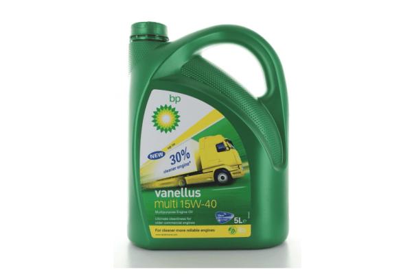 Motorno ulje BP Vanellus Multi A 15W40 5L