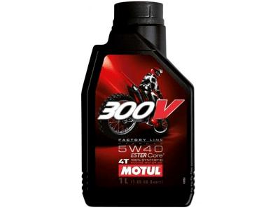Motorno ulje Motul 4T 300V Factory Line 5W40 1L