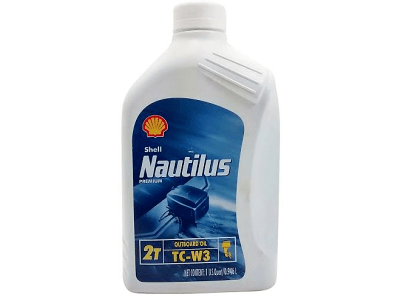 Motorno ulje Shell Nautilus Outboard 2T 1L