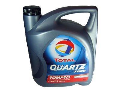 Motorno ulje Total Quartz 7000 Diesel 10W40 5L