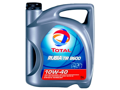 Motorno ulje Total Rubia TIR 8600 10W40 5L