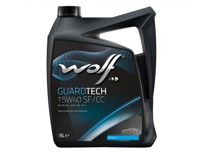 Motorno ulje WOLF GUARDTECH 15W40 SF/CC 5L