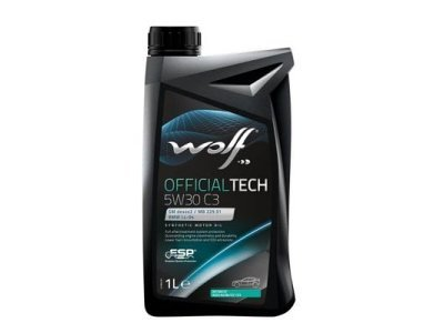 Motorno ulje WOLF OFFICIALTECH 5W30 MS-BT 1L