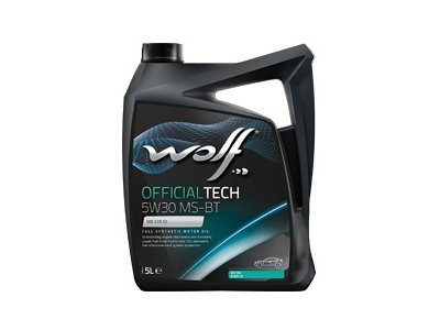 Motorno ulje WOLF OFFICIALTECH 5W30 MS-BT 5L