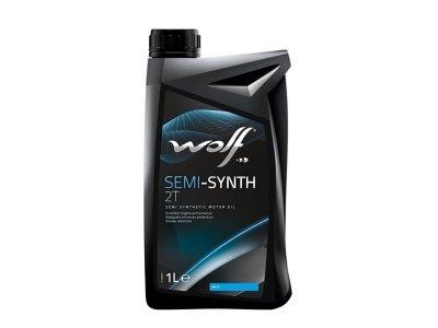 Motorno ulje WOLF SEMI-SYNTH 2T 1L