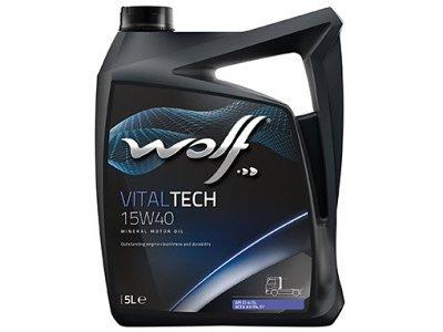 Motorno ulje WOLF VITALTECH 15W40 5L