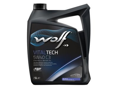 Motorno ulje WOLF VITALTECH 5W40 C3 5L