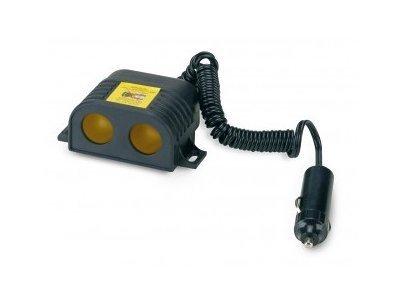 Multi adapter za cigaretni vžigalnik, 12/24V, 2 priljučka