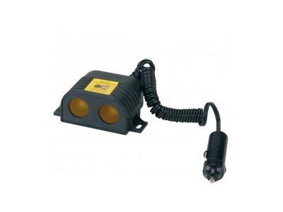 Multi adapter za cigaretni vžigalnik 35070, 12/24V, 2 priljučka