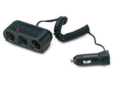 Multi adapter za upaljač za cigarete, 12/24V, 3 priključka