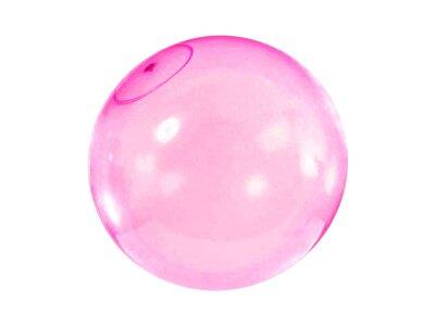 Napihljiva žoga, 120 cm, roza