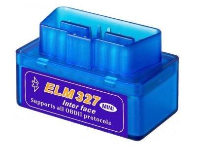 Naprava za avto diagnostiko Super Mini ELM327 V2.1, OBD2, Bluetooth, bencin