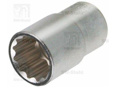 Nasadni ključ, pogon 1/2, notranja širina 12 mm