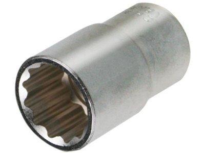 Nasadni ključ, pogon 1/2, notranja širina 24 mm