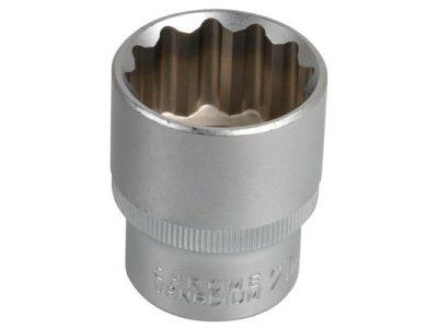 Nasadni ključ, pogon 1/2, notranja širina 27 mm