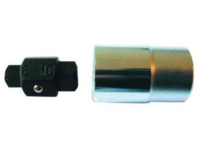 Nasadni ključ, prihvat 1/2, unutrašnja širina 8/10 mm