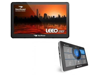 """Navroad navigacija LEEO S6, +spominska kartica 2 GB, 7"""""""