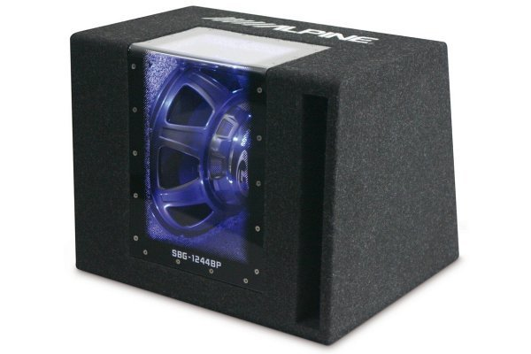 Nizkotonski zvočnik Alpine SBG-1244BP