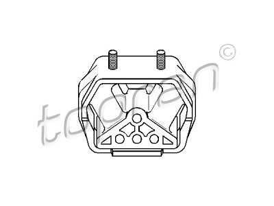Nosač motora 201 352 755 - Opel Calibra 89-
