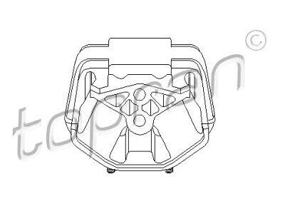 Nosač motora 205 614 755 - Opel Calibra 89-97