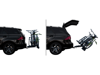 Nosač za bicikl Active bike 2 (siva boja), Kvaku automobila, 2 bicikla