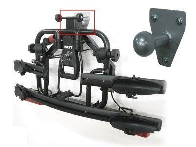 Nosač Za bicikl Active bike 3 (crna boja), kvaka automobila, 3 bicikla