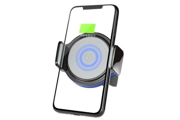 Nosilec, držalo telefona + brezžična polnilna točka, Premium