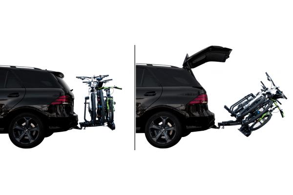 Nosilec za kolo Active bike 3 (siva barva), kljuka avtomobila, 3 kolesa
