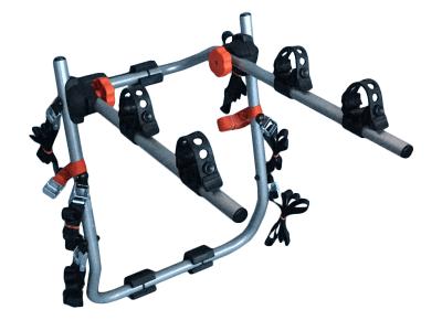 Nosilec za kolo Tour 2 (siva barva), vratni, za dve kolesi