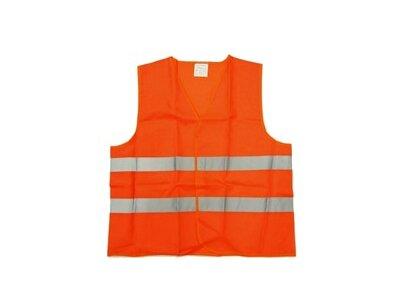 Odsevni brezrokavnik AMT 1, oranžna