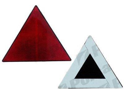 Odsevnik (trikotnik z lepilnimi trakovi), višina 140mm