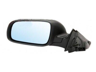Ogledalo Audi A3 96-00 črno ohišje, večje, asferično