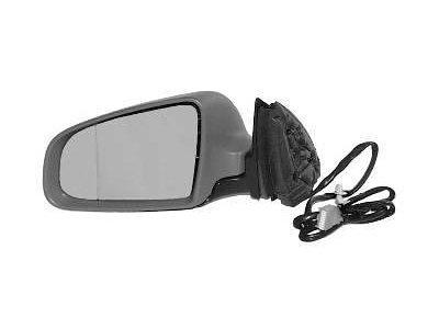Ogledalo Audi A4 00-04, električni pomik, kromirano steklo