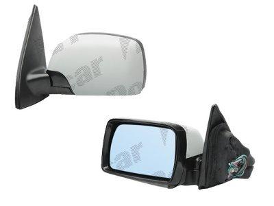 Ogledalo BMW X5 (E53) 00-07, električni pomik, modro steklo, 5 pin