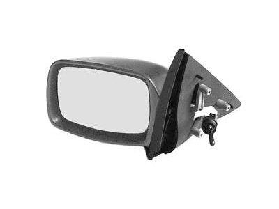 Ogledalo Ford Escort 95-, ročni pomik, ohišje za lakiranje