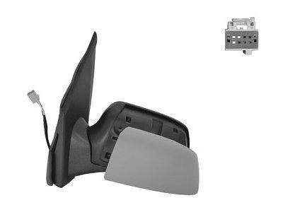 Ogledalo Ford Fusion 05-, električni pomik, ohišje za lakiranje, 5 pin