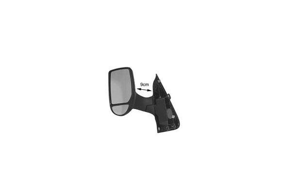Ogledalo Ford Transit 00-, ročni pomik, krajši nosilec