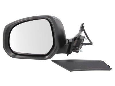 Ogledalo Opel Agila 07-, električni pomik, kromirano steklo
