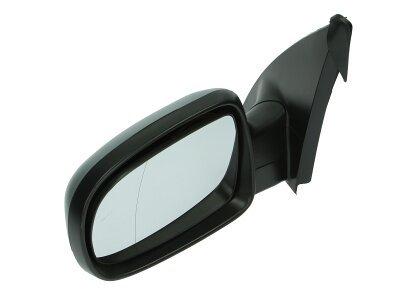 Ogledalo Opel Combo 00-, električni pomik, črno ohišje, asferično steklo