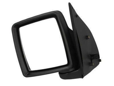 Ogledalo Opel Combo 00-, električni pomik, ohišje za lakiranje, konveksno steklo, 5 pin