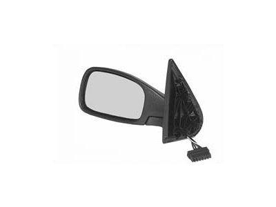 Ogledalo Peugeot 306 92-01, električni pomik, črno ohišje, 5 pin