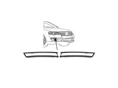 Okvir žmigavca Volkswagen Passat C2/C5 05- Crni