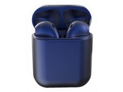 Orginalne i12 TWS Dark Blue bežične Bluetooth slušalice, bezručno telefoniranje, glazba, kotrola dodirom, Tamnoplava