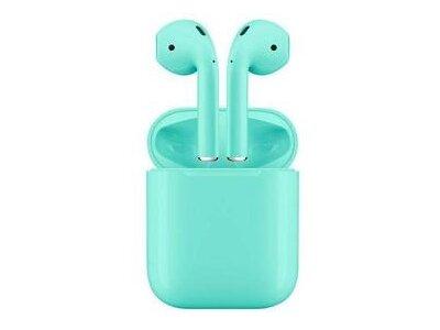 Orginalne i12 TWS Green bežične Bluetooth slušalice, bezručno telefoniranje, glazba, kotrola dodirom
