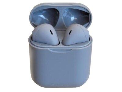 Orginalne i12 TWS Green bežične Bluetooth slušalice, bezručno telefoniranje, glazba, kotrola dodirom, Siva
